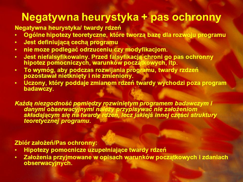 Negatywna heurystyka + pas ochronny
