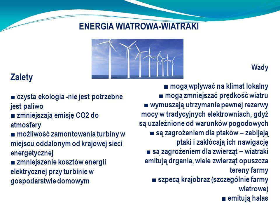 ENERGIA WIATROWA-WIATRAKI