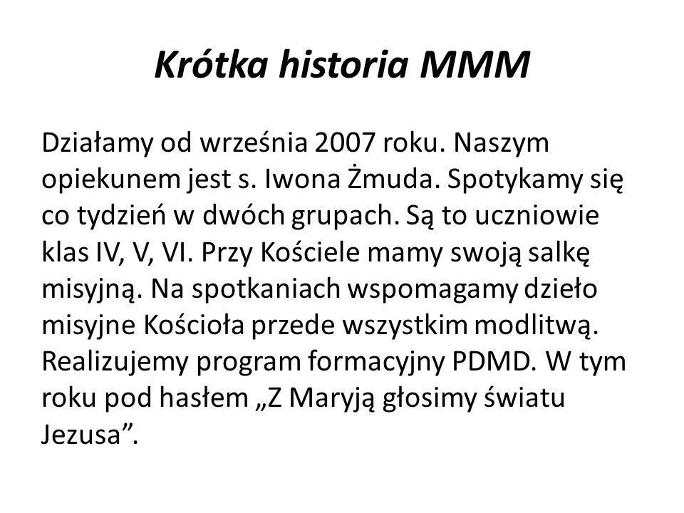 Krótka historia MMM