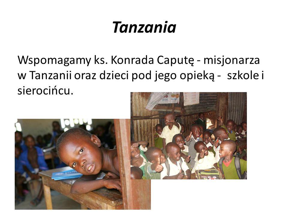 Tanzania Wspomagamy ks.