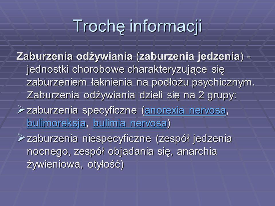 Trochę informacji