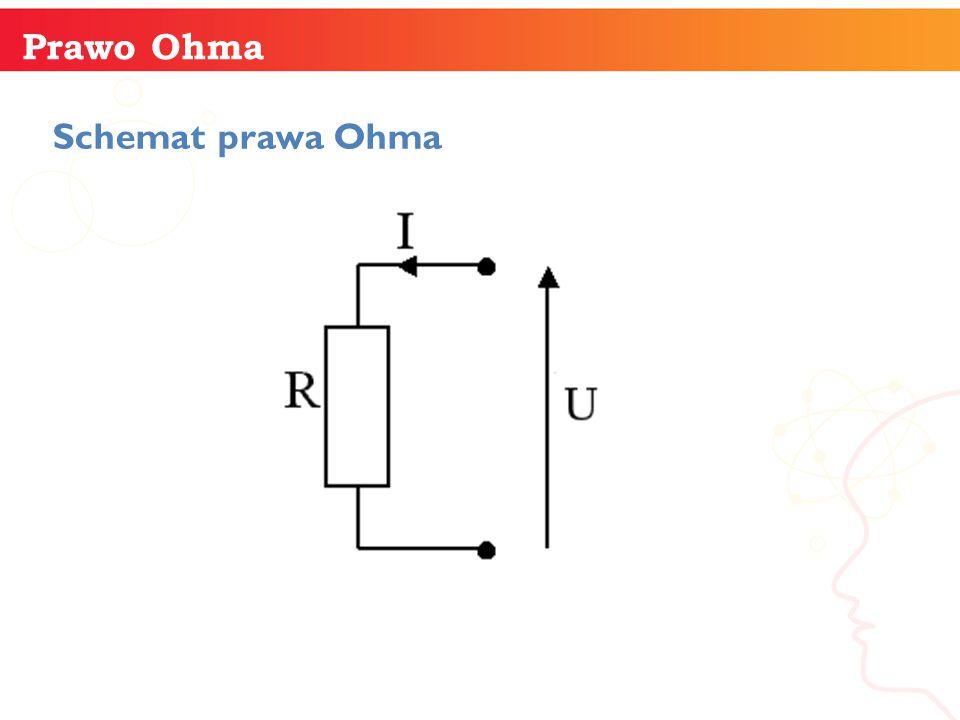 Prawo Ohma Schemat prawa Ohma informatyka +