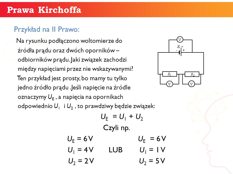 Prawa Kirchoffa informatyka + Przykład na II Prawo: