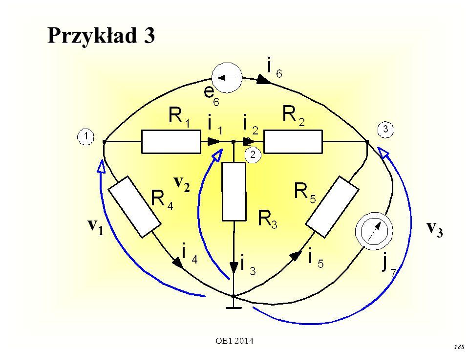Przykład 3 v2 v1 v3 OE1 2014