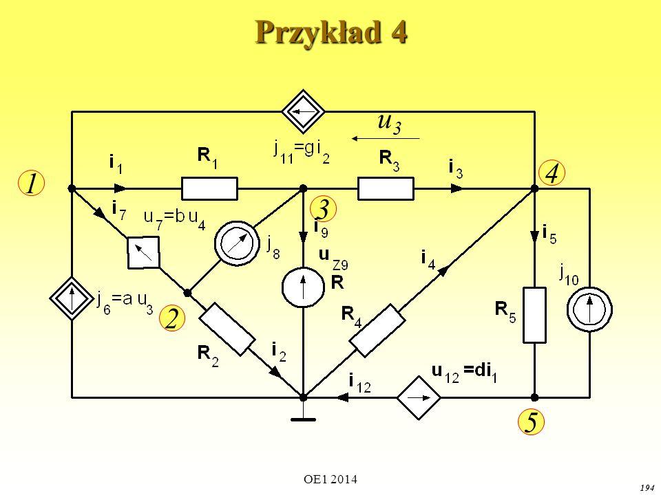 Przykład 4 u3 1 2 3 4 5 OE1 2014