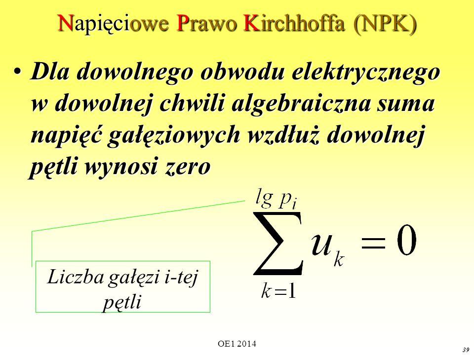 Napięciowe Prawo Kirchhoffa (NPK)