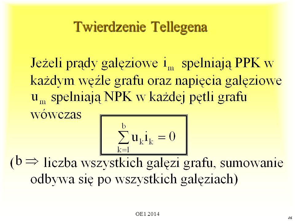 Twierdzenie Tellegena
