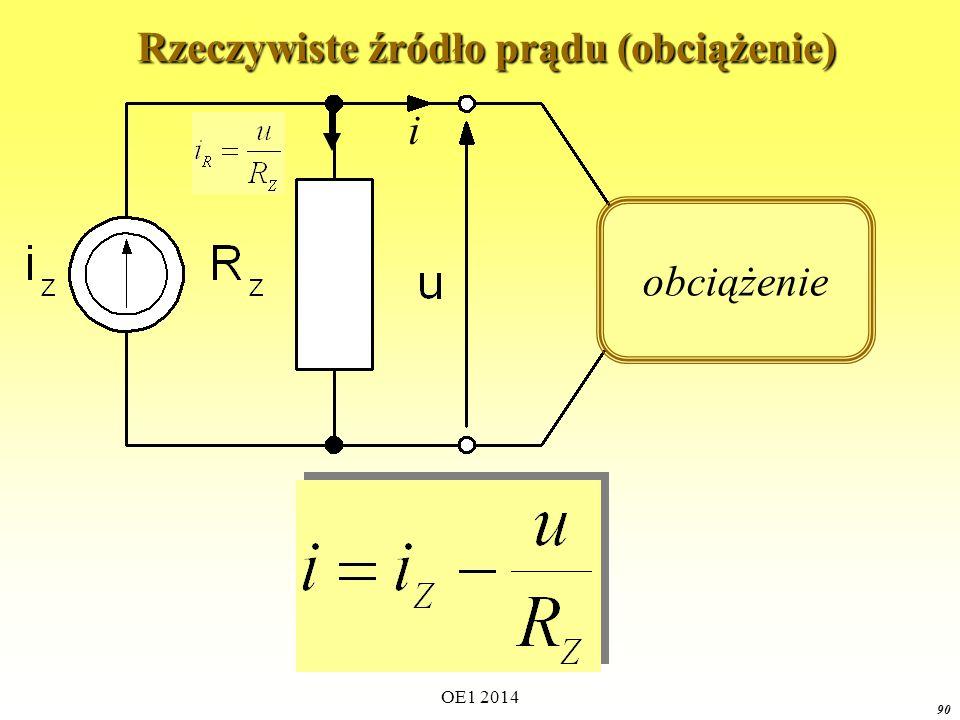 Rzeczywiste źródło prądu (obciążenie)