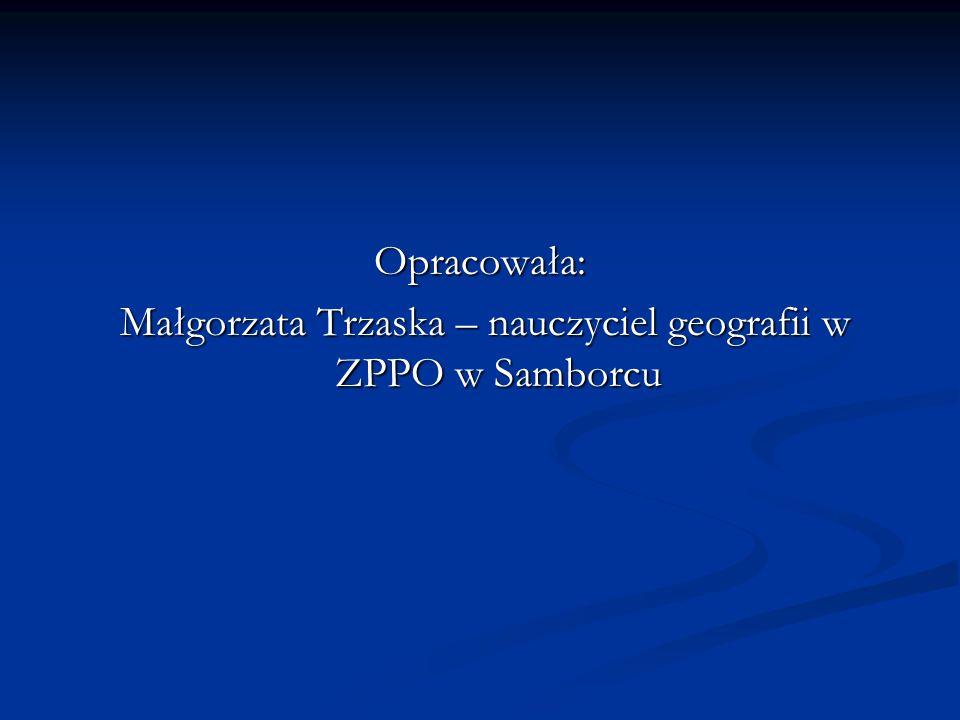 Małgorzata Trzaska – nauczyciel geografii w ZPPO w Samborcu