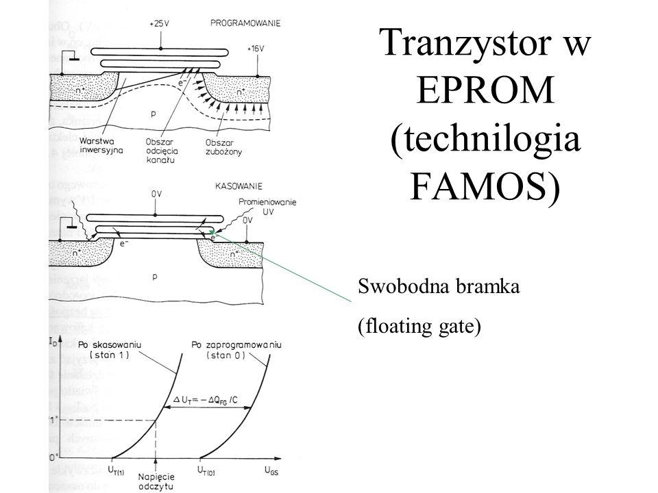 Tranzystor w EPROM (technilogia FAMOS)