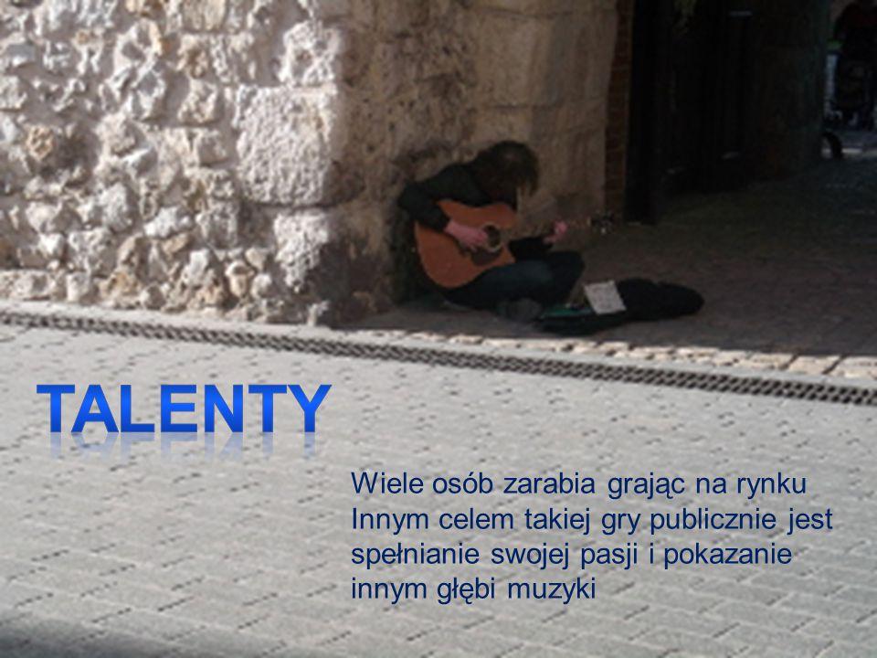 Talenty Wiele osób zarabia grając na rynku