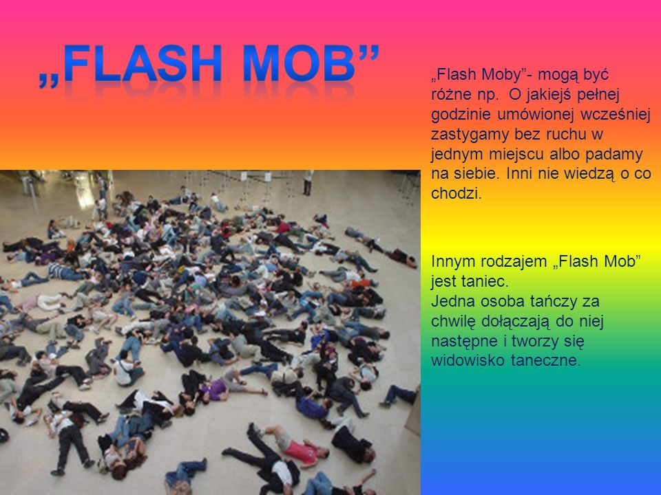 """Flash Mob"
