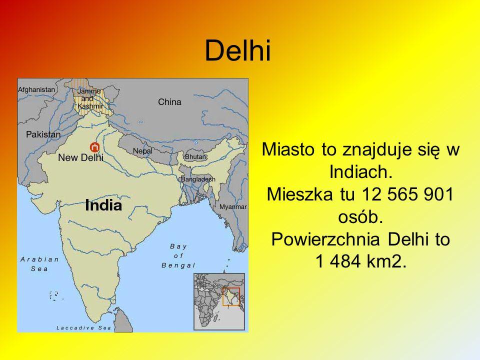 Delhi Miasto to znajduje się w Indiach. Mieszka tu 12 565 901 osób.