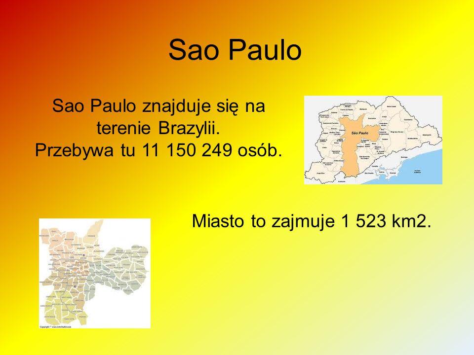 Sao Paulo znajduje się na terenie Brazylii.
