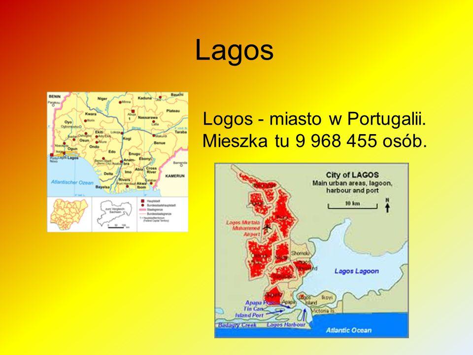 Logos - miasto w Portugalii. Mieszka tu 9 968 455 osób.