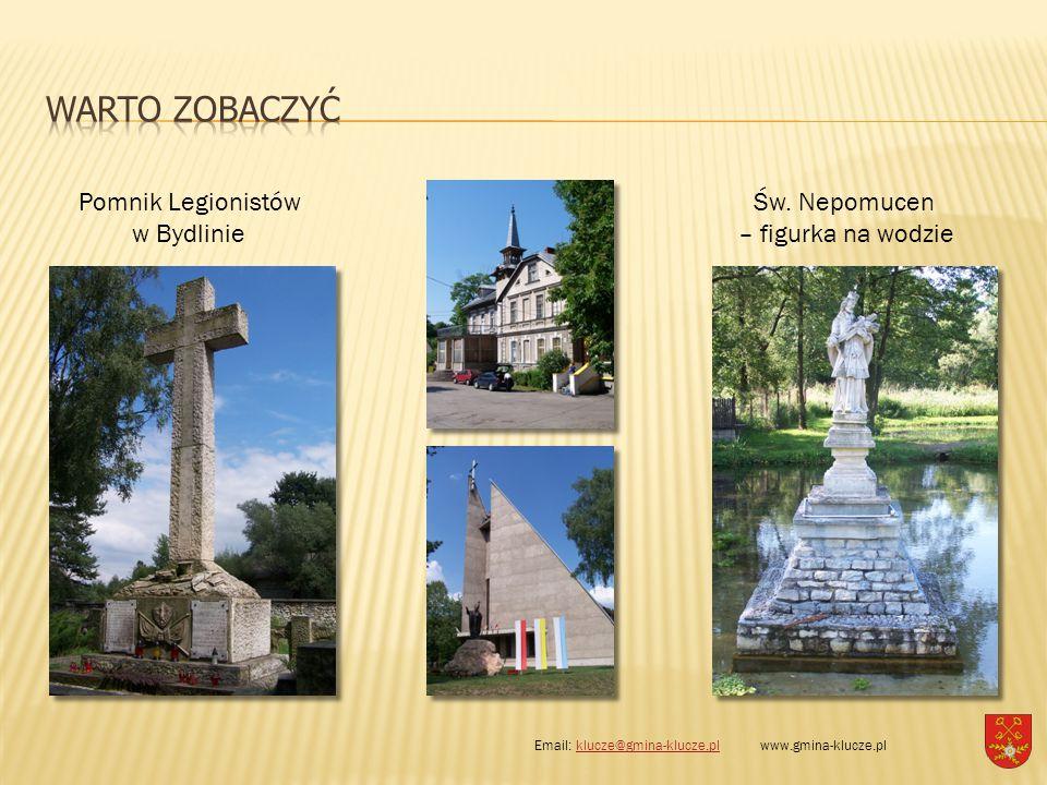 WARTO ZOBACZYĆ Pomnik Legionistów w Bydlinie Św. Nepomucen