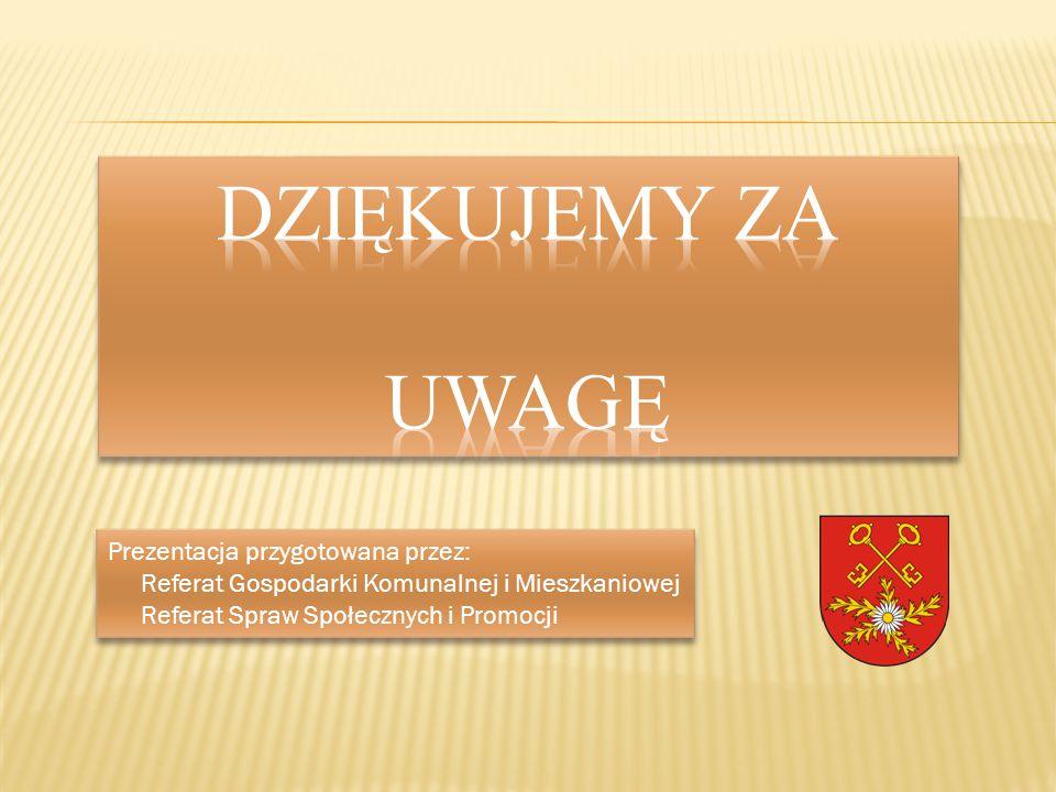 DZIĘKUJEMY ZA UWAGĘ Prezentacja przygotowana przez: