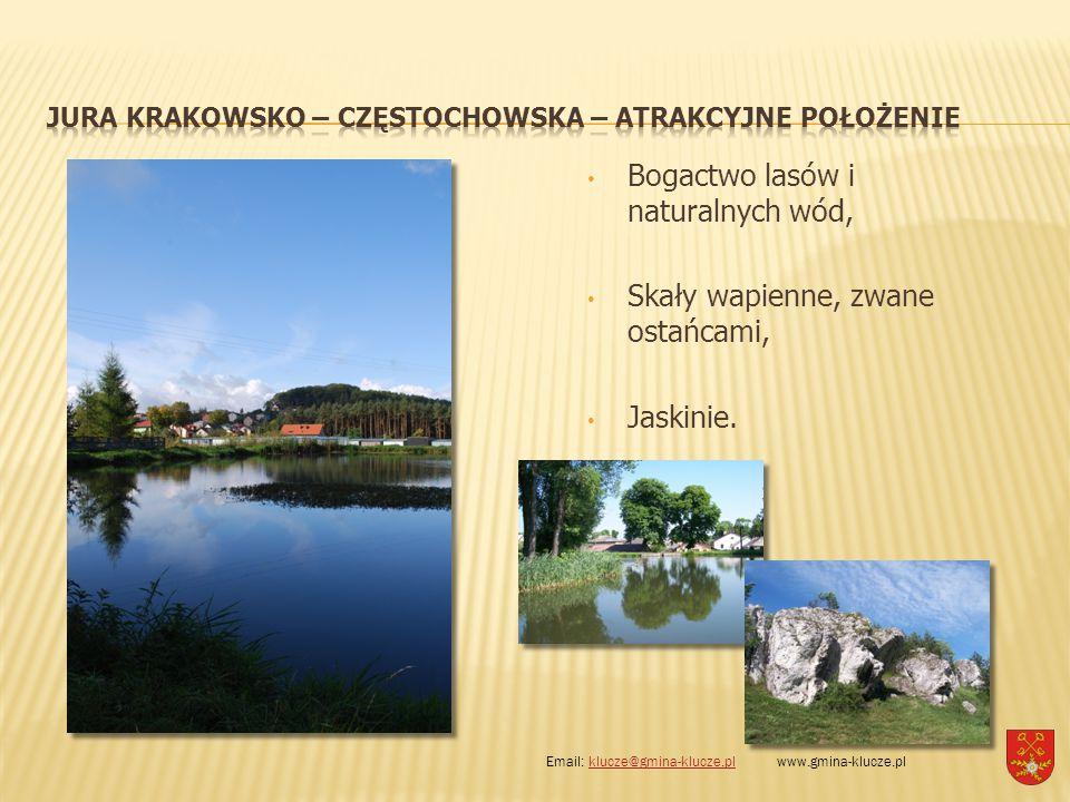 Jura Krakowsko – Częstochowska – atrakcyjne położenie