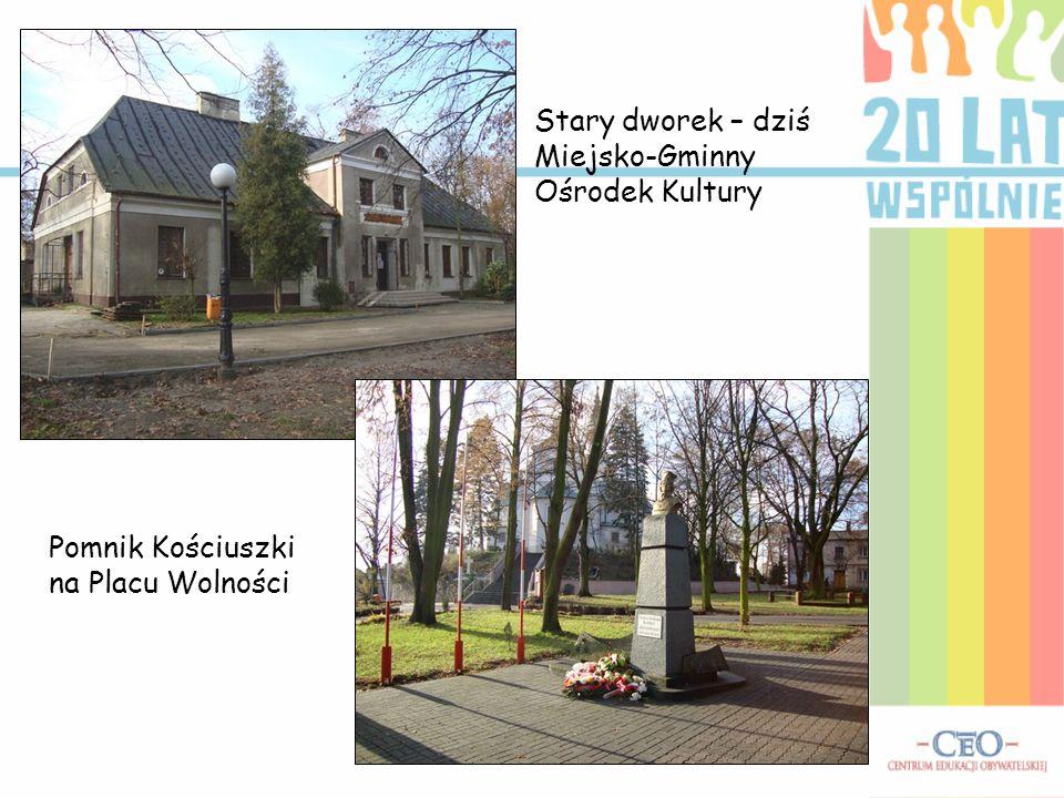 Stary dworek – dziś Miejsko-Gminny Ośrodek Kultury
