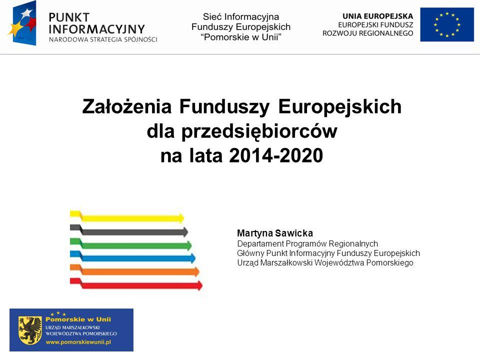 Założenia Funduszy Europejskich