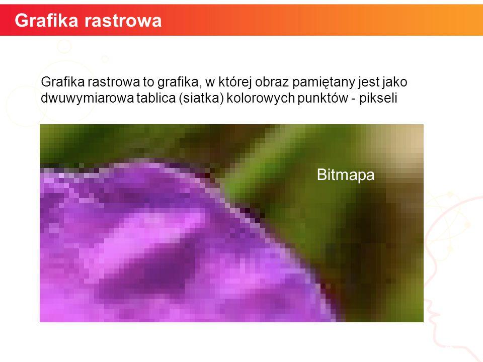 Grafika rastrowa informatyka + Bitmapa