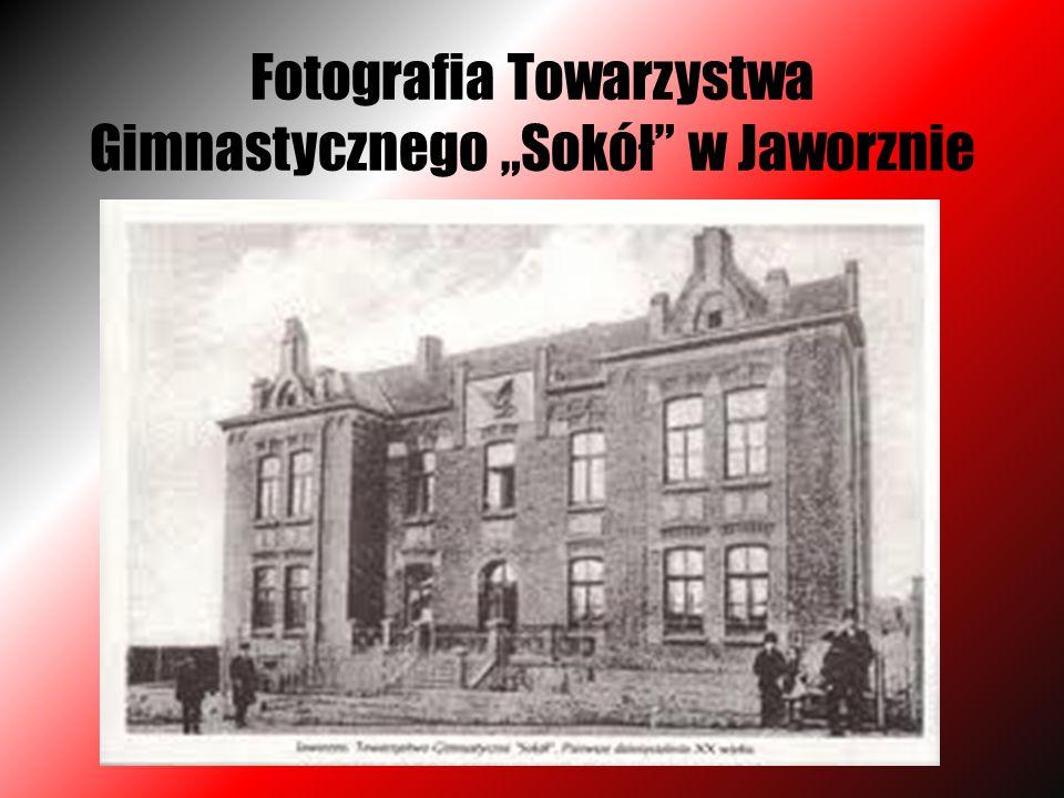 """Fotografia Towarzystwa Gimnastycznego """"Sokół w Jaworznie"""
