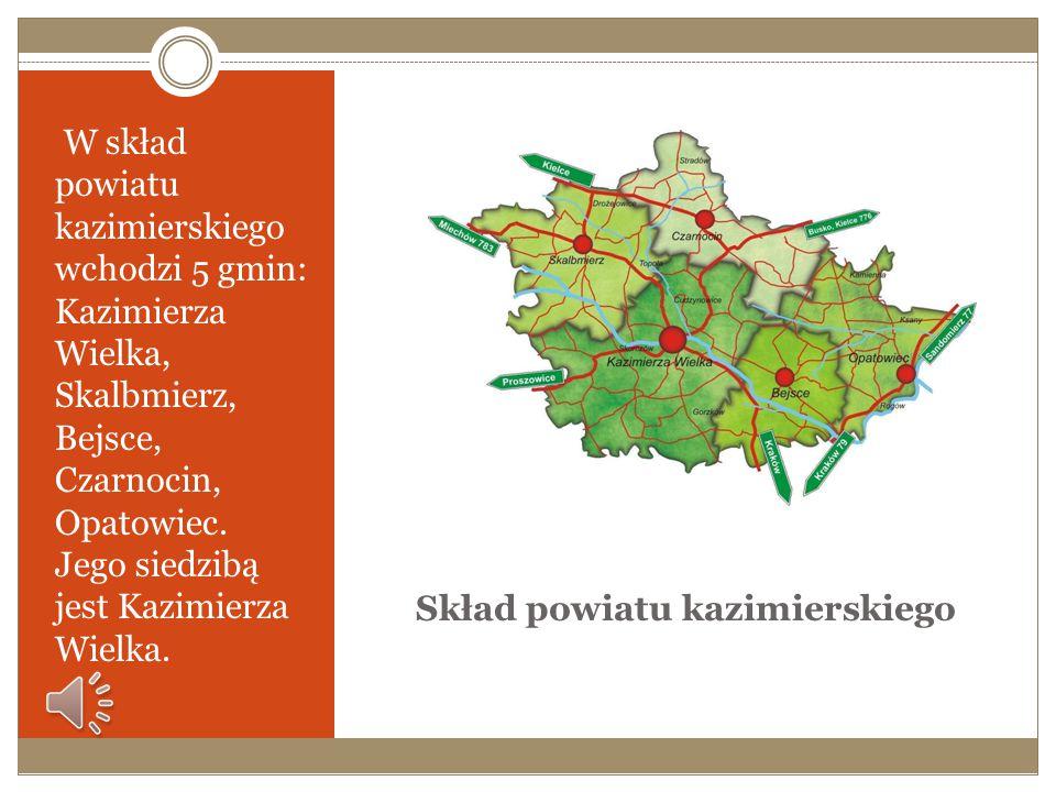 Skład powiatu kazimierskiego