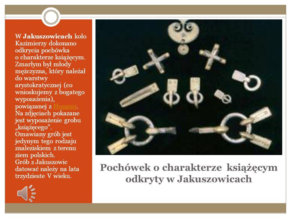 Pochówek o charakterze książęcym odkryty w Jakuszowicach