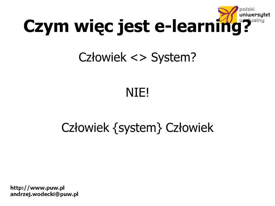 Czym więc jest e-learning