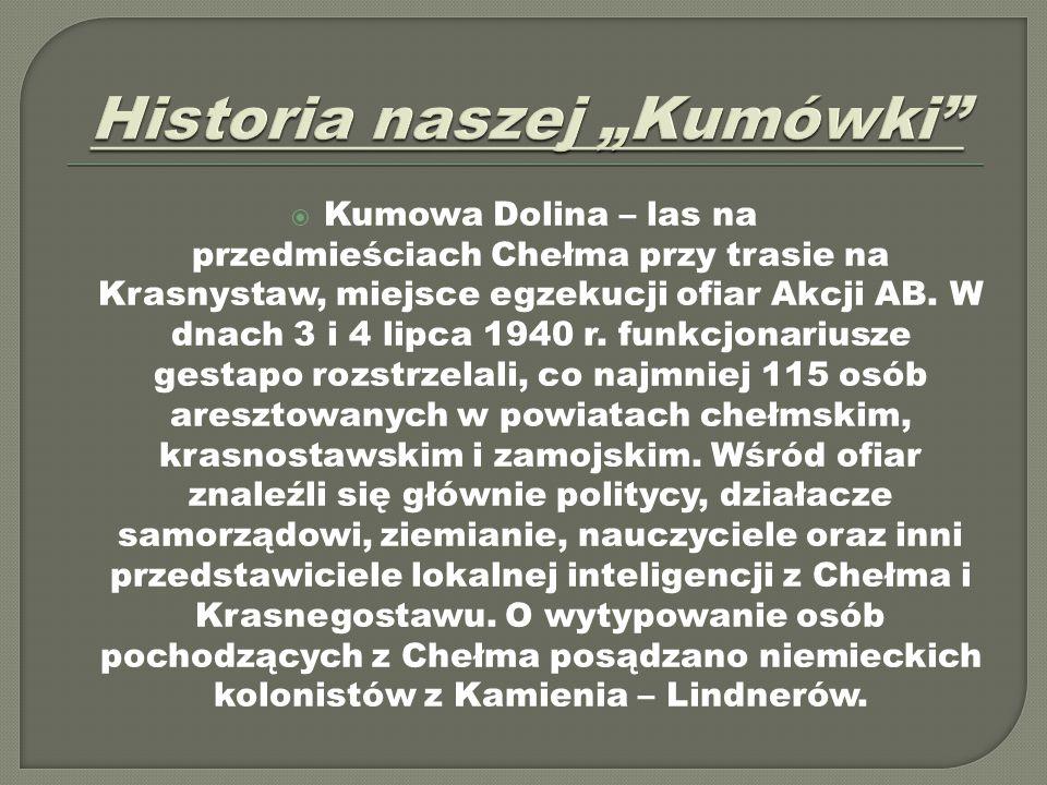"""Historia naszej """"Kumówki"""