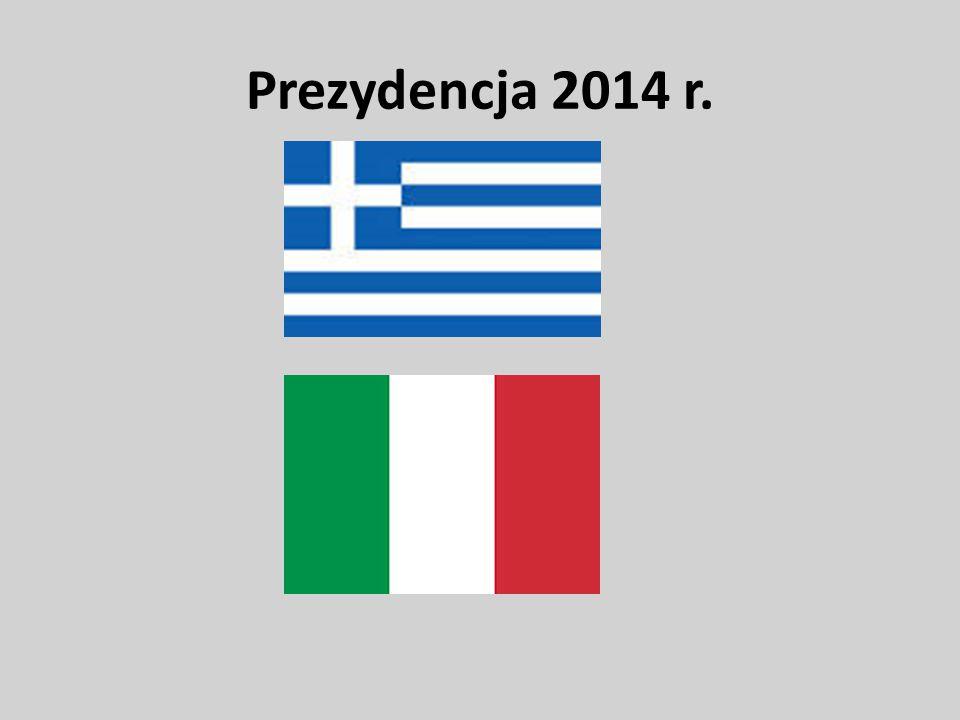 Prezydencja 2014 r.