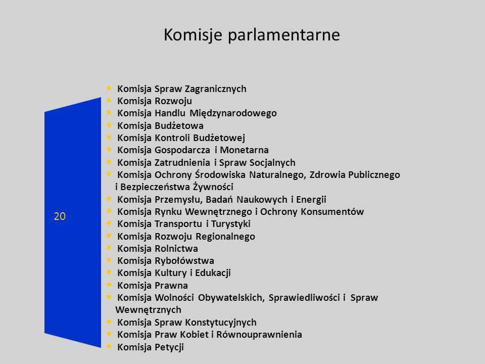 Komisje parlamentarne