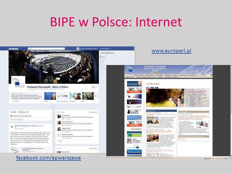 BIPE w Polsce: Internet