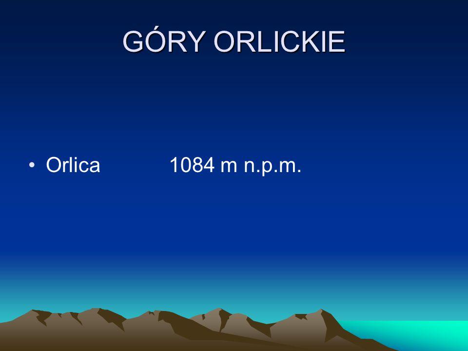 GÓRY ORLICKIE Orlica 1084 m n.p.m.