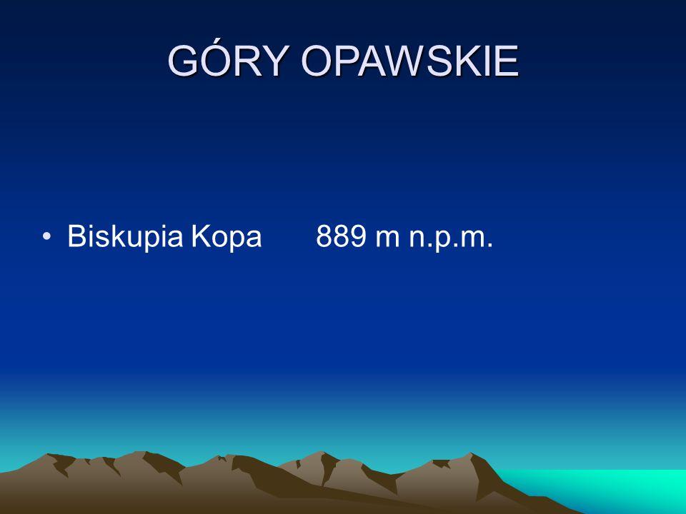 GÓRY OPAWSKIE Biskupia Kopa 889 m n.p.m.