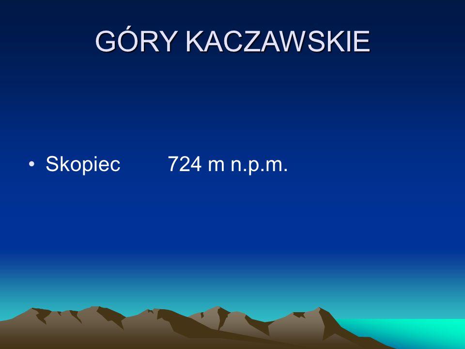 GÓRY KACZAWSKIE Skopiec 724 m n.p.m.