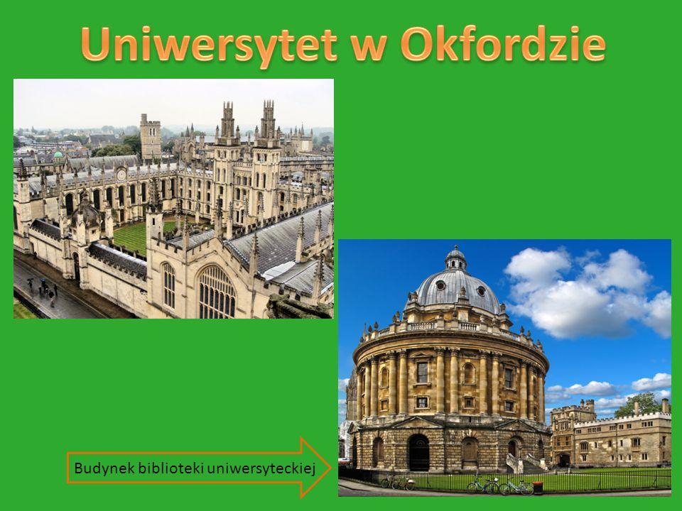 Uniwersytet w Okfordzie