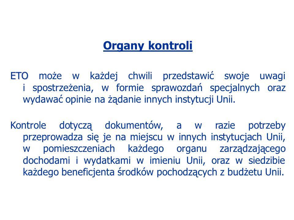 Organy kontroli