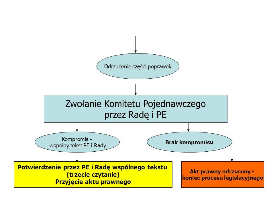 Zwołanie Komitetu Pojednawczego przez Radę i PE