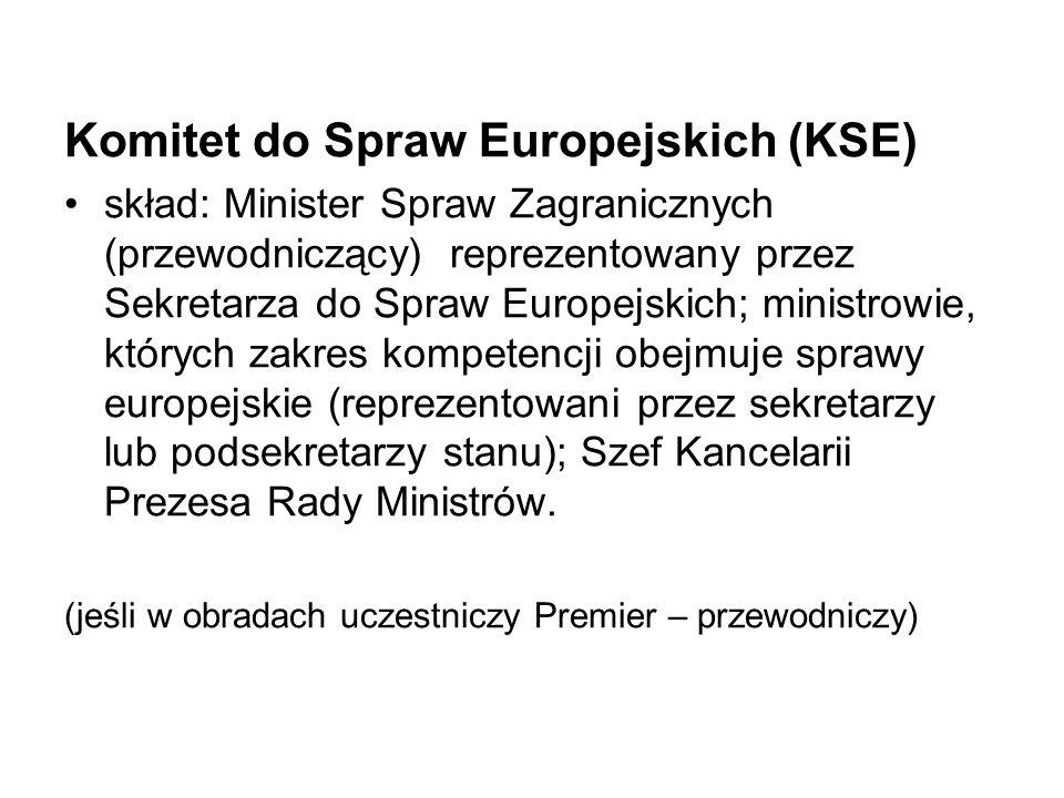 Komitet do Spraw Europejskich (KSE)