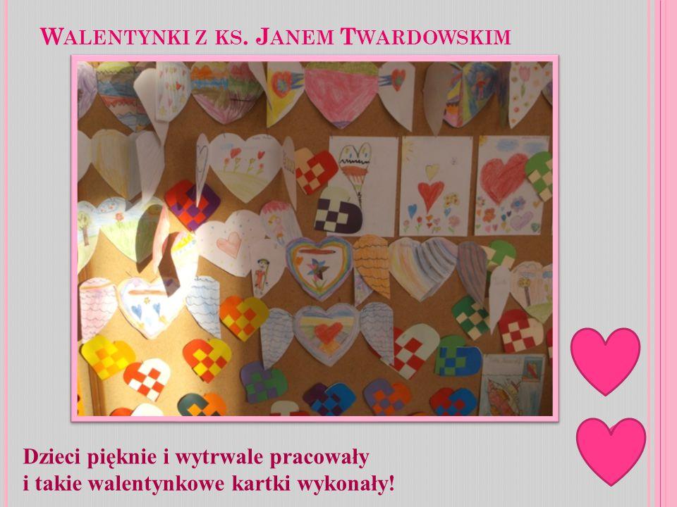 Walentynki z ks. Janem Twardowskim