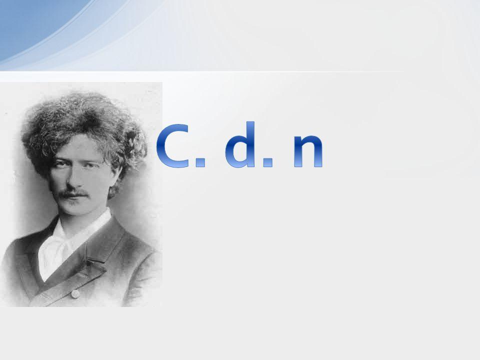 C. d. n