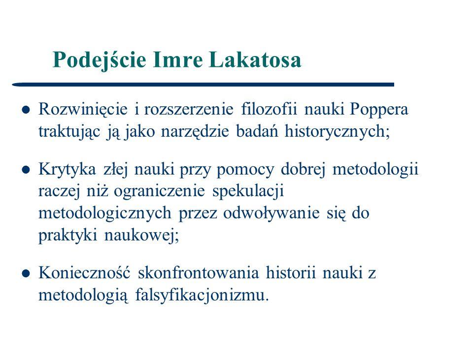 Podejście Imre Lakatosa