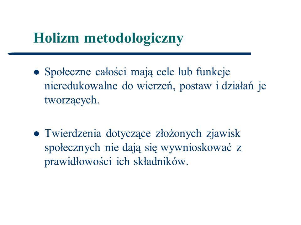 Holizm metodologiczny