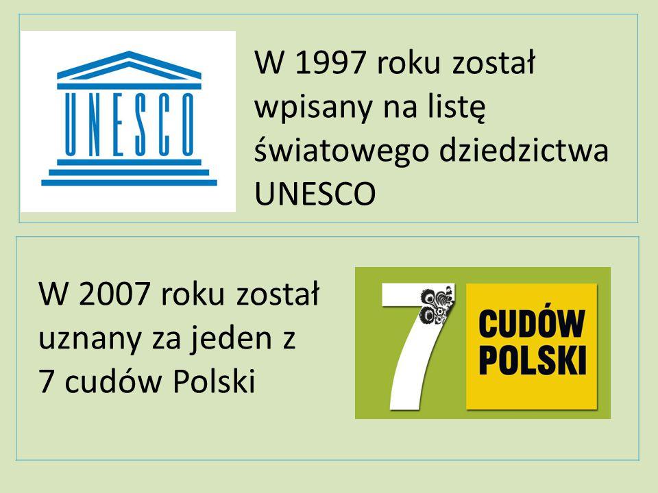 W 2007 roku został uznany za jeden z 7 cudów Polski