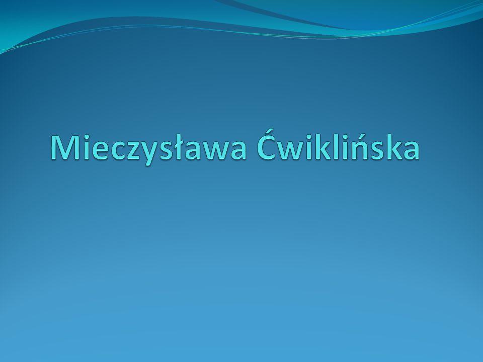 Mieczysława Ćwiklińska
