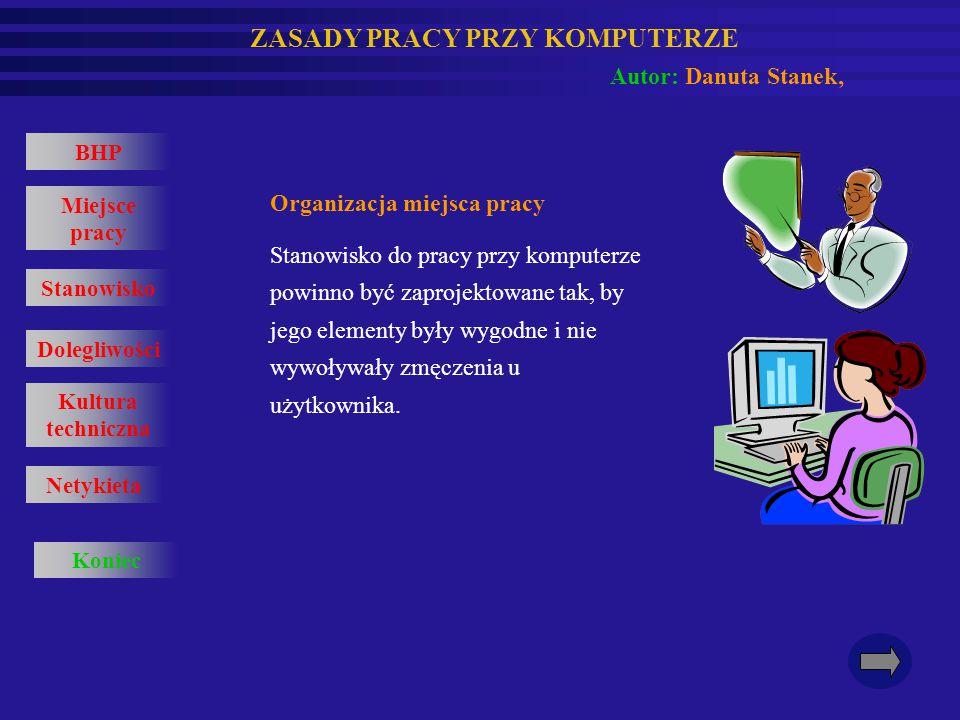 Organizacja miejsca pracy