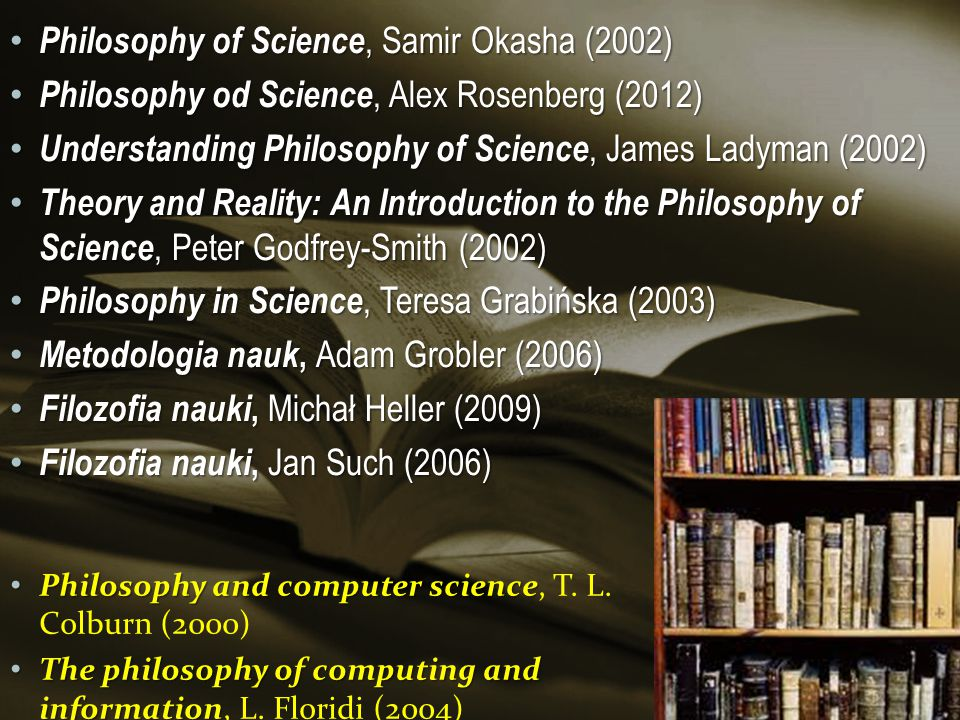 Philosophy of Science, Samir Okasha (2002)