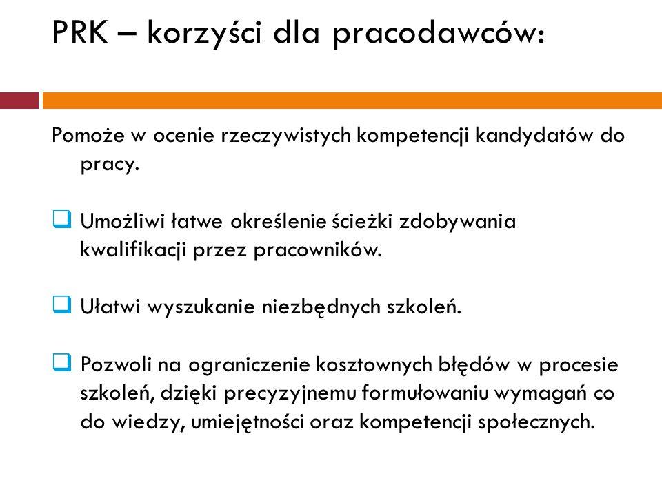 PRK – korzyści dla pracodawców: