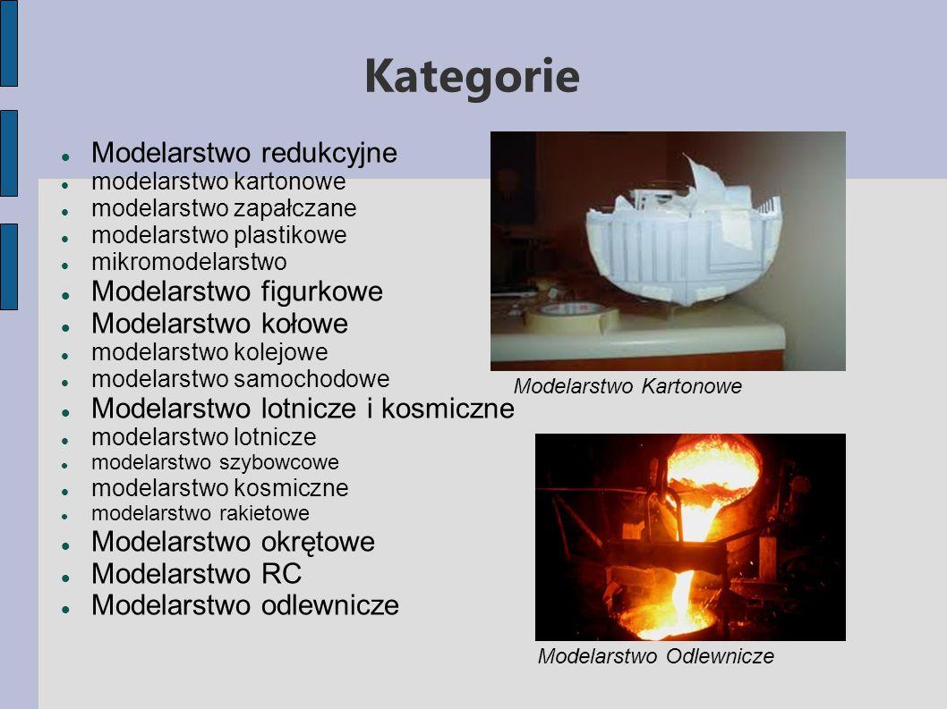 Kategorie Modelarstwo redukcyjne Modelarstwo figurkowe
